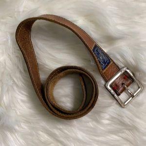 Vintage 90's Lucky Brand leather belt
